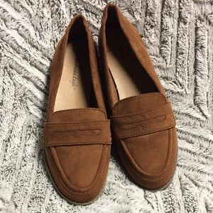 Tan suede shoes AMERICAN EAGLE
